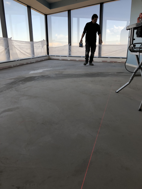 Eureka Tower Floor Leveling